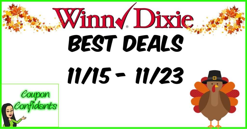 Winn Dixie Best Deals – 11/15 – 11/23