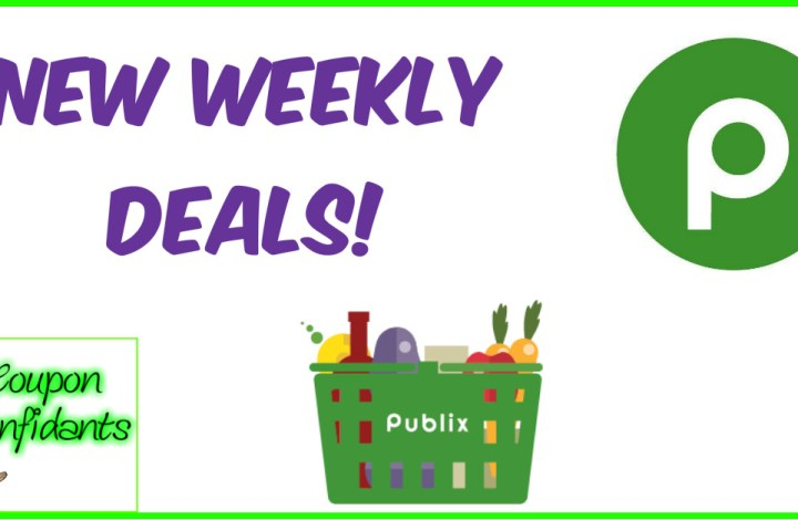 Publix Weekly Match Ups! August 21-27 or 22-28
