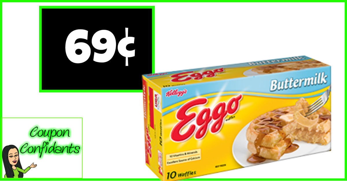 Eggo Waffles for 69¢ at Publix!! WOW!