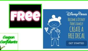 FREE Disney Stick Figures are back!