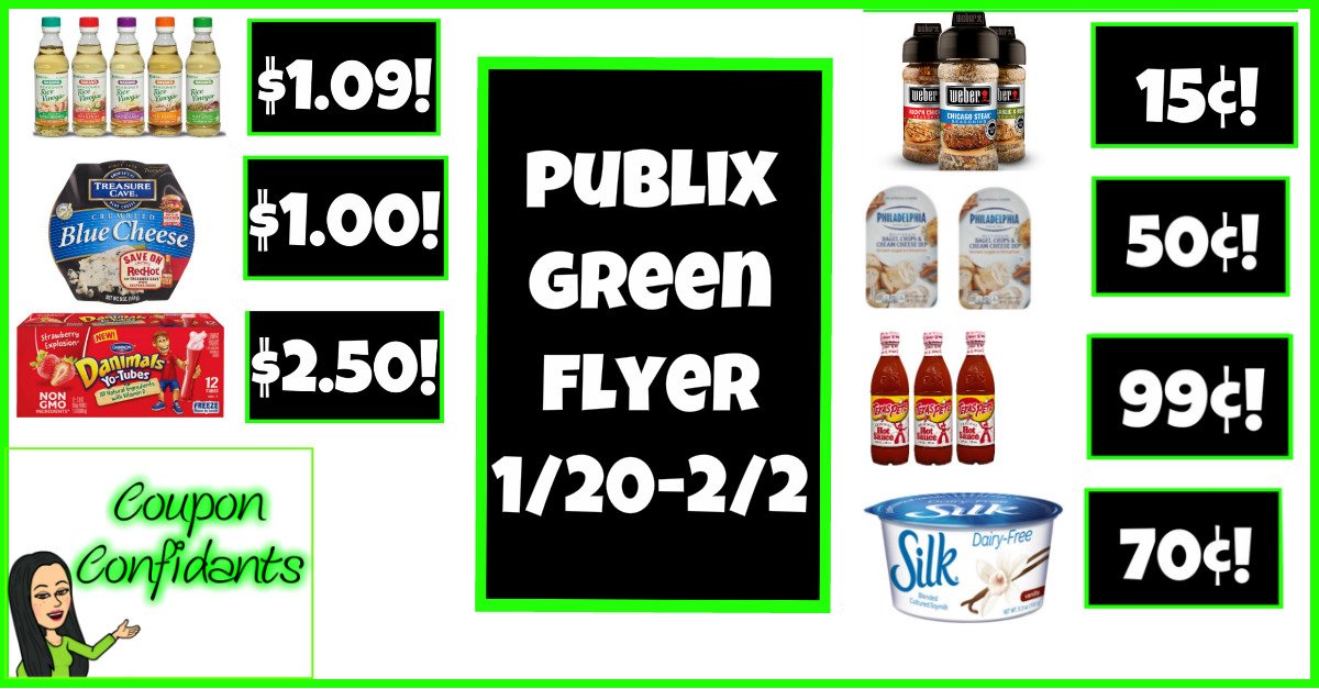 Publix Green Flyer Jan 20 - Feb 2