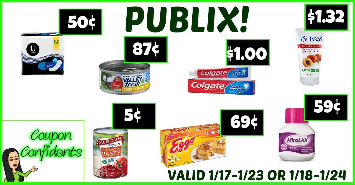 Publix Best Deals Jan 17 - 23 (Jan 18 - 24)