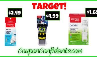 Playtex Scenarios for Target!