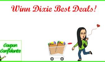 Winn Dixie Best Deals 4/4 – 4/10!