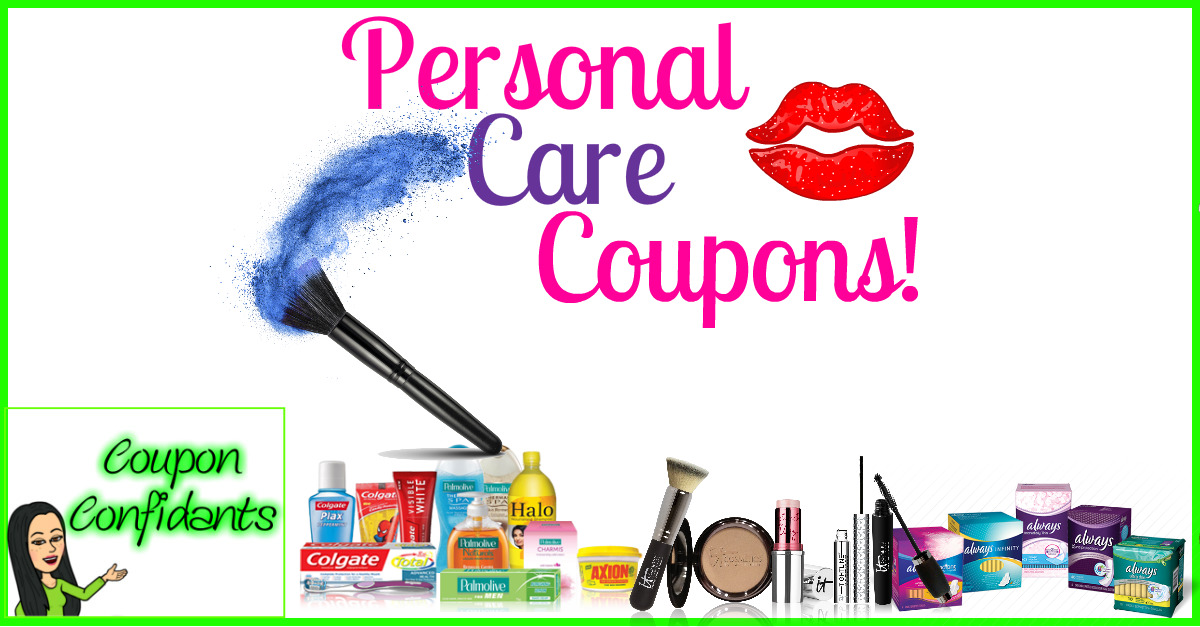 Personal Care Coupons Coupon Confidants