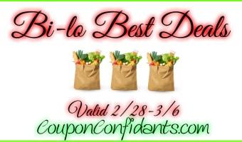 Bi-lo BEST Deals and Match ups! 2/28 – 3/6