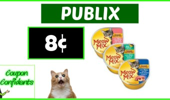 WOW!! Almost FREE Meow Mix at Publix!!