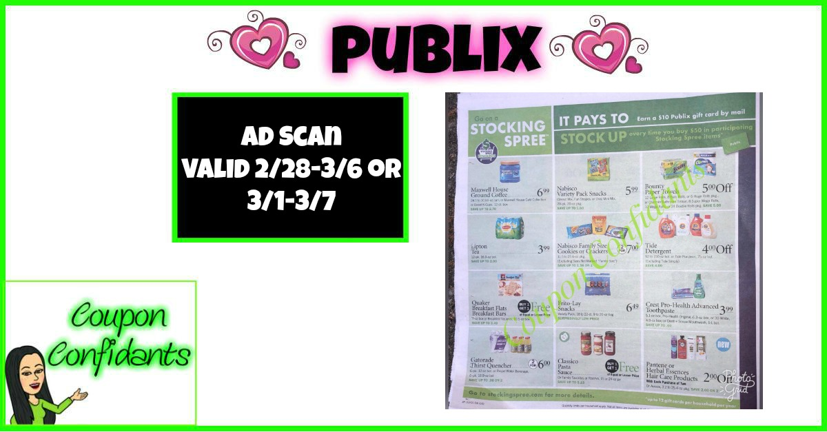 Publix Ad Preview  2/28-3/6 - 3/1-3/7
