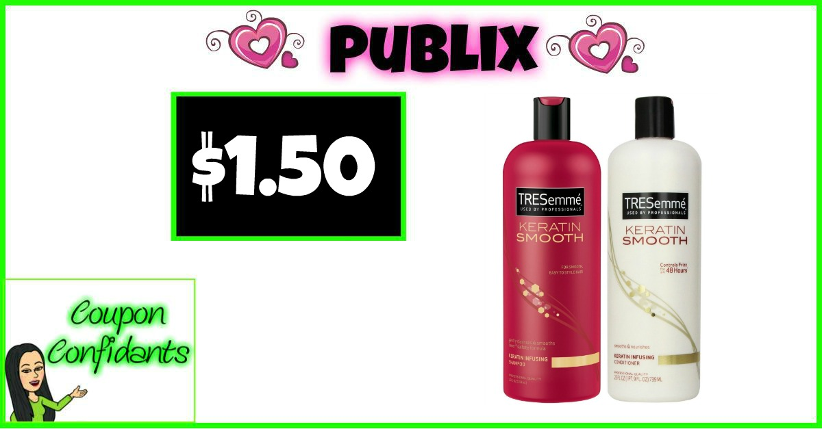 TRESemme Pro Collection Shampoo or Conditioner Only $1.50