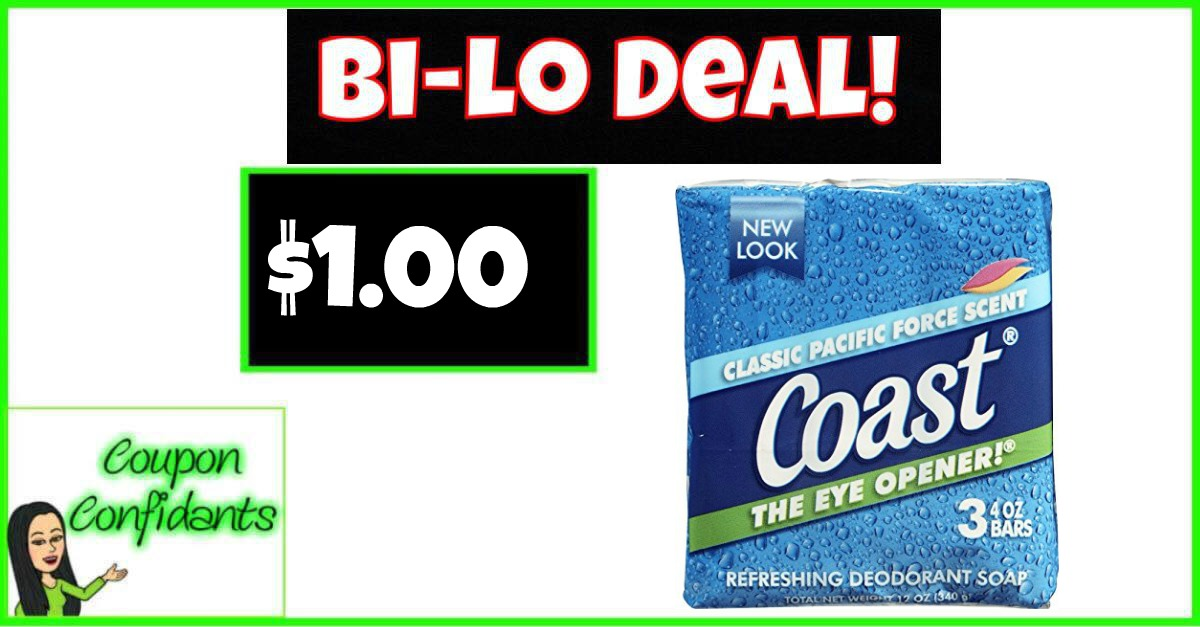 Coast Bar Soap Only $0.33 Per Bar