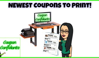 NEW Coupons to print! July 29 edition!