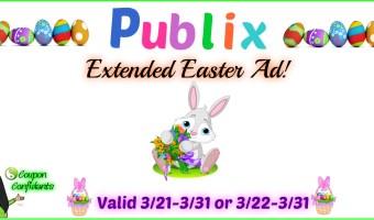 Visual Deals for Publix Easter Ad and Quick Prints!