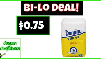 Sweet Deal! Domino Granulated Sugar, 4 lb Only $1.13