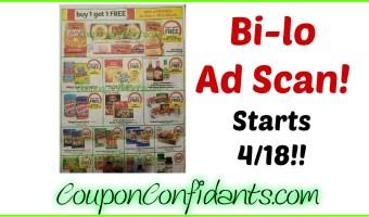 Bi-lo NEW Ad Scan! 4/18 – 4/24