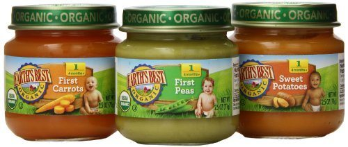 Earth's Best Jars 67¢ at Publix!