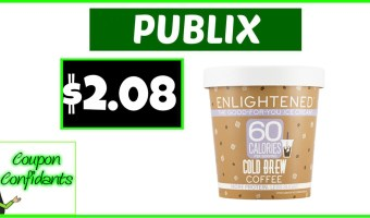 Enlightened Ice Cream only $2.08 at Publix!