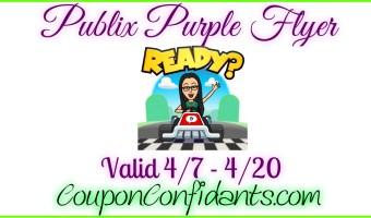 Publix Purple Flyer Deals April 7 – April 20