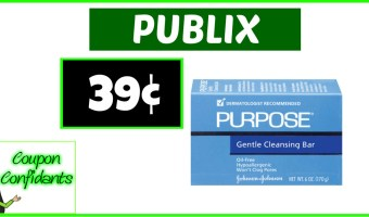 Bar Soap at Publix only 39¢!! WOW!