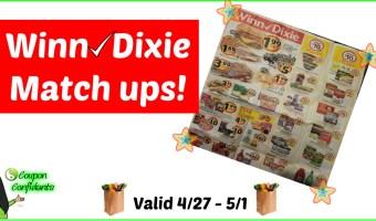 Winn Dixie Match ups 4/25 – 5/1