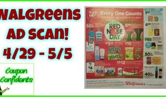 Walgreens Early Ad Scan! 4/29 – 5/5