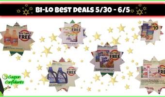 Bi-lo BEST Deals 5/30 – 6/5!