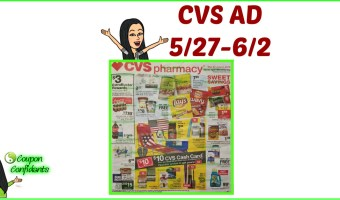 CVS AD Preview 5/27 – 6/2 Memorial Day Ad!