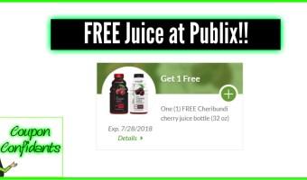 FREE Juice at Publix! Clip now!