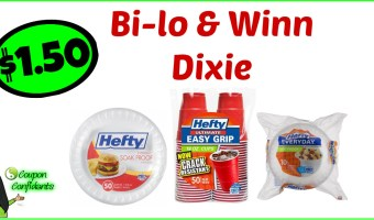 It's Back!!! Hefty Deal at Winn Dixie and Bi-lo!