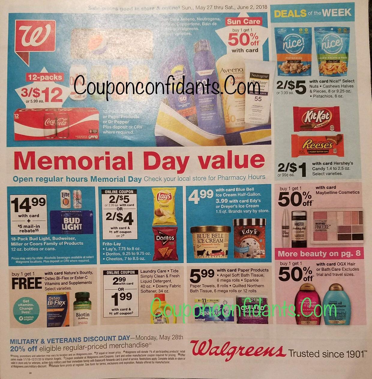 Walgreens Ad 5/27-6/2!! ⋆ Coupon Confidants