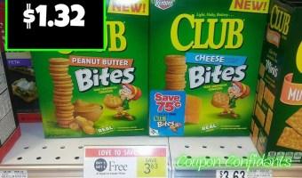 Couple days left! Keebler Club Crackers $1.32 at Publix!