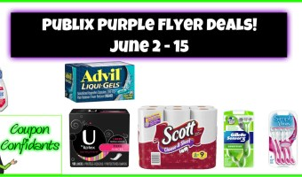 Publix Purple Flyer June 2 – June 15