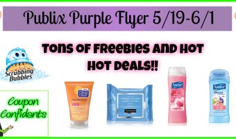 Publix Purple Flyer May 19 – June 1