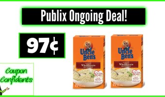 97¢ Uncle Ben's Ongoing at Publix! YUM!
