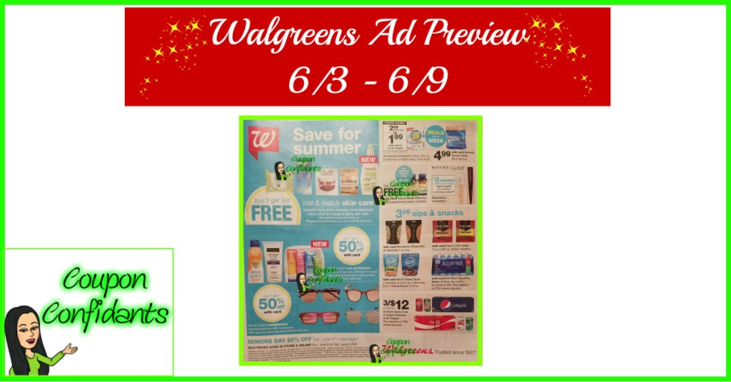 Walgreens Ad Preview 6/3 – 6/9