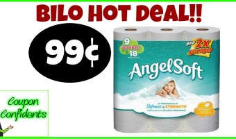 WOW!! Angel Soft for as low as 99¢ at Bilo!! (Might be same for Winn Dixie too!)