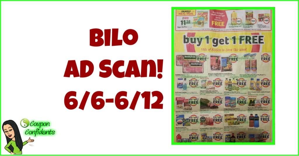 Bi-lo AD Scan! 6/6 – 6/12