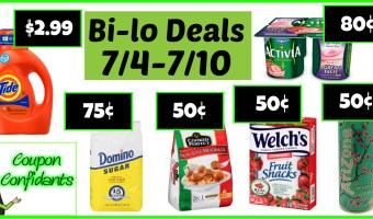 Bi-lo Weekly Match ups!  7/4 – 7/10 HOT week!
