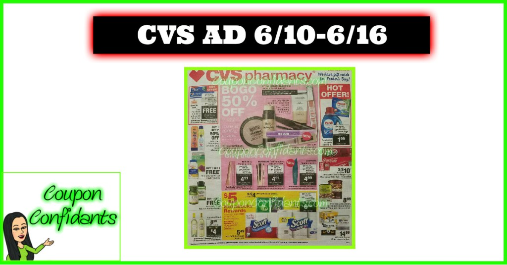 CVS AD Preview 6/10 – 6/16
