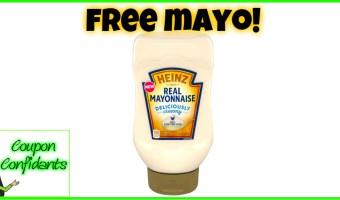 FREE Heinz Mayonnaise!