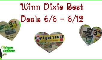 Winn Dixie Best Deals 6/6 – 6/12