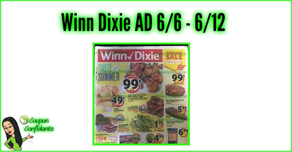 Winn Dixie AD 6/6 – 6/12