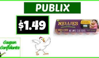 Nellie's Free Range Eggs for $1.49~ Publix Deal!