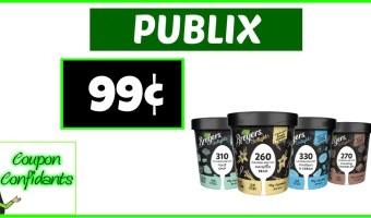 Breyer's Delights 99¢ at Publix!