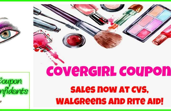 Covergirl Coupons – Last day to print!