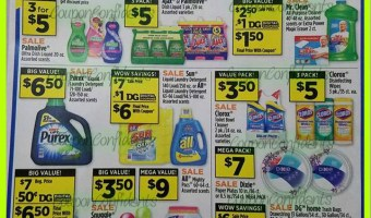 Dollar General AD EARLY Look! 7/29 – 8/4