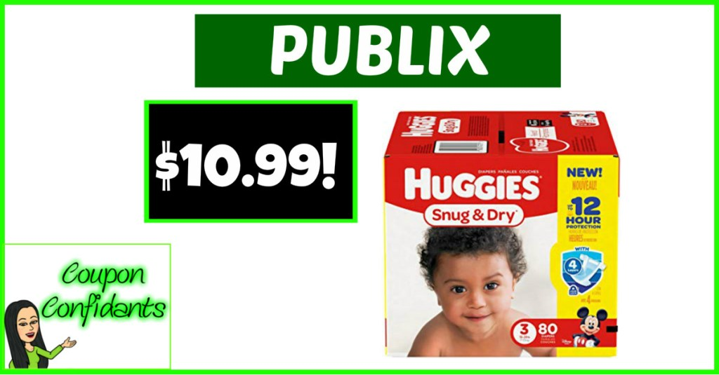 HOT Huggies Deal at Publix!!