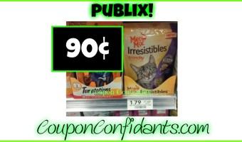 90¢ Meow Mix Treats at Publix!