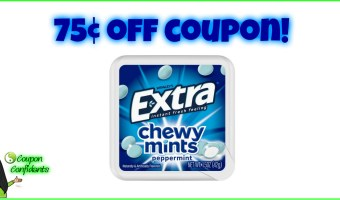 New Coupon for Extra Chewy Mints!