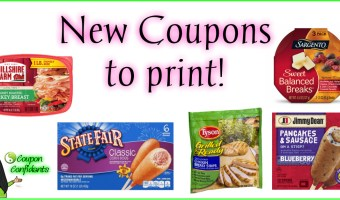 New Printable Coupons! State Fair Corn Dogs, Sargento, Tyson, Jimmy Dean, Hillshire Farm!