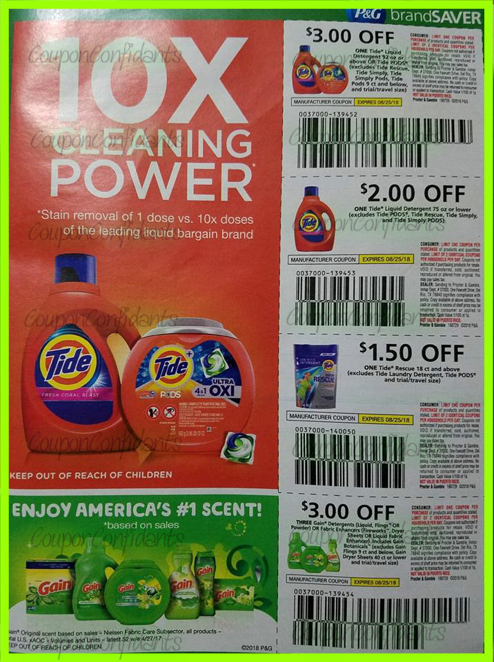 P&G AUGUST Insert Sneak Peek!! YAY!